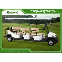 Quality 11 Seater Battery Power Electric Golf Buggy , Electric Sightseeing Car CE Approved for sale