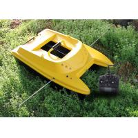 Quality Sea fishing bait boat ABS plastic remote control Radio Control Style for sale