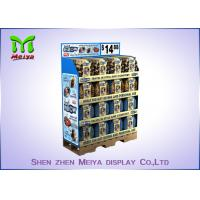 Quality Christmas Party Decoration Custom Cardboard Displays , recycled corrugated floor display for sale