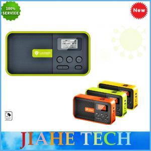 Quality 2015 New launched Clock radio speaker,portable mini USB radio speaker for sale