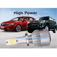 Best High Power 35W H1 H4 9004 Headlight Car Aviation Aluminum LED Headlight bulbs wholesale