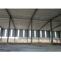 Quality Construction Precoated Roofing Sheets Prefabricated Steel Frame Warehouse In Philippines for sale