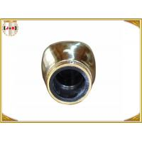 China Smooth Gold Metal Perfume Bottle Tops , Crown Bottle CapsCustomized Shaped on sale
