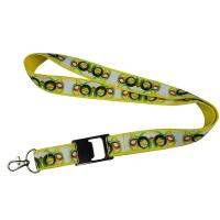 Quality Sublimation Satin Lanyards for sale