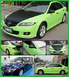 Quality Bubble Free Color Vinyl Car Sticker (OWV221) for sale