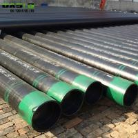 Quality 5 / 8 Inch Stainless Steel Well Casing Pipe , Oil Transporting Slotted Bore Casing Tubing for sale