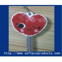Quality Kids Gift Lovely Custom Soft PVC Keychain / Personalized Key Chains with Rubber , Silicone for sale