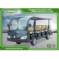 Quality Aluminum Chassis Electric Sightseeing Car / Electric Passenger Bus for sale