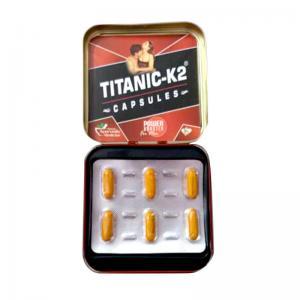 Quality 1 Pill Per Card Natural Penis Enlargement Capsule Titanic K2 Capsule for sale