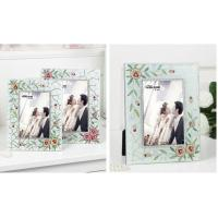 Quality Contemporary Glass Wedding Photo Frames Wedding Gifts For Guests Deluxe for sale
