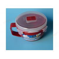 Noodle Microwavable Plastic Bowls Light Weight Non - Toxic Long Service Life