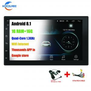 Quality Dul Din Universal Car DVD Player / Android Universal Car Dvd Player Wifi Gps for sale