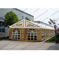 Quality Colorful Painting Decoration Event Tents PVC Cover For Outdoor Hajj for sale