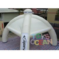 Best Spider Advertising Project Inflatable Dome Tent With Interchangeable Velcro Banner wholesale