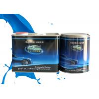 China Mixed Blue Shining Silver Metallic Automotive Paint Heat Resistant Adjustable Size on sale