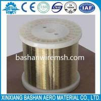 Quality High sale,high quality and low price wire 0.25mmEDM brass wire by bashan for sale