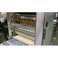 Quality Traditional Automatic Tortilla Machine Controlled By PLC Of Dividing Rounding And Pressing Type for sale