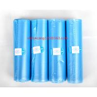 China LDPE Top-Blocked biodegradable , Rubbish plastic bag 550*600mm 10mic 35L garbage bag on sale