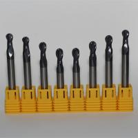 Quality R3 diameter ball nose end mill cutters for sale