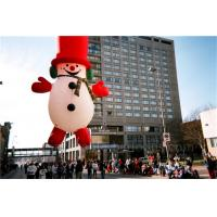 Quality Helium Inflatable Cartoon Characters Heat Sealing Giant Inflatable Snowman for sale