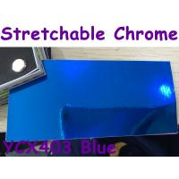 Quality Stretchable Chrome Mirror Car Wrapping Vinyl Film - Chrome Blue for sale