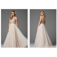 Embroidery Decorative Wedding Dress Ball Gown Ivory Cheap Wedding Dresses