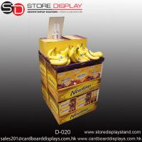 Best Banana POP fruits Corrugated dumpbin unit display box wholesale