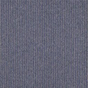 Quality 50cm X 50cm Size Striped Carpet Tiles High - Low Loop Pile Construction for sale