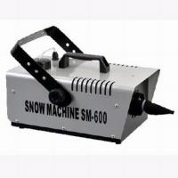 Quality Portable 600w Mini Stage Snow Effect Machine / Fake Snow Machine For Party for sale