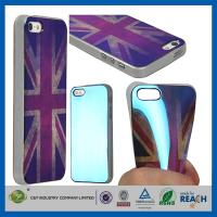 Quality Retro UK Style TPU Gel Soft Girls Fashion Durable Cell Phone Cases For Apple Iphone 5S for sale