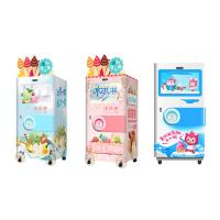 Quality Automatic Self Service Soft Ice Cream Vending Machine For Food / Beverage Shops for sale