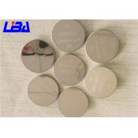 Buy cheap Button Cell Battery 90mAh Duration 1020h , Cr2016 3v Battery For Electronic Toys from wholesalers