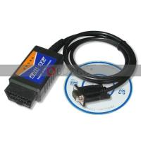 Quality USB ELM327 V1.4 PLASTIC OBDII EOBD CAN BUS SCANNER for sale