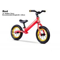 """Quality 12""""  High Quality Aluminum Kids Balance Bike No Pedal Baby Push Bike With Inflatable Cartridge Wheelsets Red for sale"""