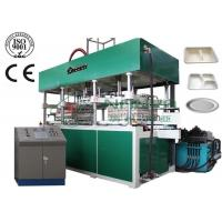 Fully Automatic Thermoforming Pulp Molding Equipment for Tableware / Dishware YC010