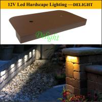 outdoor led lawn and landscape lighting, 12 volt LED patio lights for Deck and Stair Light