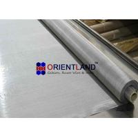 Quality 304 Stainless Steel Wire Cloth Mesh Plain Weave 30m Length Customized Width for sale