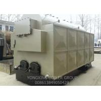 Quality Fast Installed Wood Burning Steam Boiler / Hand Fired Wood Fired Steam Boiler 3 Tons for sale