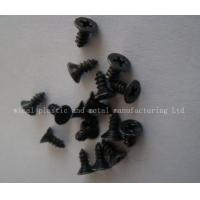 China Black plated Philip's head PA Screws,stainess steel,iron,size and color as per request. on sale