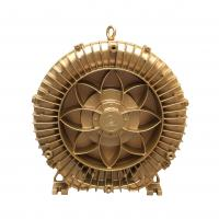 China 8.5kW Golden Color Side Channel Air Blower High Temperature Resistance on sale