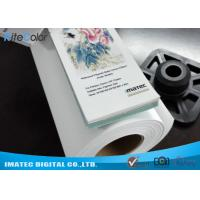 Quality 300D Fine Art Blank Inkjet Canvas Roll 220gsm for Large Format Printers for sale