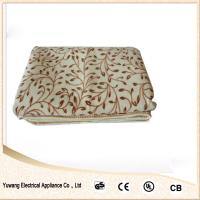 Quality electric heated blanket with CE,CB,GS ROHS Certifications for sale