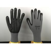 Quality 6' Size Nitrile Coated Gloves Super Soft Cotton Blended Liner Fashion Design for sale