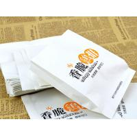 Quality Grease proof kraft fried chicken takeaway food bags for sale