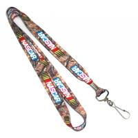 Best Double Sided Dye Sublimation Lanyards Blanks With Swivel J-Hook wholesale