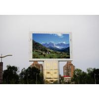 Quality P10 Portable SMD3528 Outdoor Full Color LED Display screen DIP546 320 * 320mm for sale