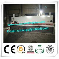 China QC11Y-16x8000 Hydraulic Guillotine Shearing Machine For Q235A Steel Sheet on sale
