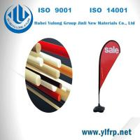 Best Pultrusion Fiber Glass Polyester Plastic Tent Pole, Beach Camping Pole, Flag Pole wholesale