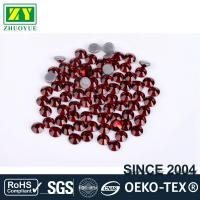 Buy Tiny Flat Hotfix Glass Rhinestones High Color Accuracy With Even Facets at wholesale prices