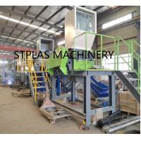Buy cheap Economic high capacity PET Recycling Machine Hot PET Bottle Flakes Washing Line from wholesalers
